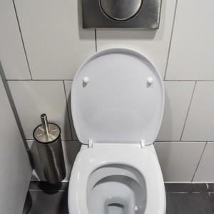 Verstopte wc